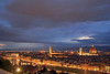 Florence at dusk (rob.brink) Tags: florence italie italy firenze city urban architecture europe dusk duomo cathedral cattedrale palazzo palazo vechio vecchio pont ponte bridge arno view mountain
