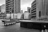 Cromwell Highwalk (cybertect) Tags: carlzeissmmdistagont28mmf28 chamberlinpowellandbon cityoflondon cromwellhighwalk ec2 london londonec2 modernism sonya7ii thebarbican architecture blackwhite blackandwhite building concrete monochrome