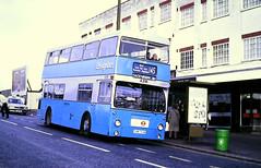 Slide 116-21 (Steve Guess) Tags: barking dagenham london england gb uk ensign ensignbus dms daimler fleetline lrt regional transport a216 ghm793n