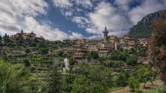 Valldemossa, Spain (Parchman Kid (Jerry)) Tags: valldemossa spain mallorca sony a6000 parchmankid landscape vista colors sky clouds sunny day