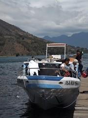 Muelle de Santiago Atitlan.