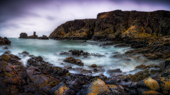 Rocky Expanse (Augmented Reality Images (Getty Contributor)) Tags: longexposure water coastline landscape seastack scotland waves nisifilters storm macduff morayfirth canon rocks seascape clouds unitedkingdom gb
