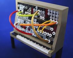 Moog Modular 55 (grobiebrix) Tags: lego afol moc moog synthesizer synthesizers bobmoog analog analogue synthesis model55