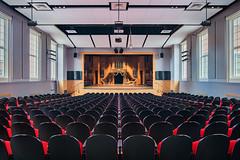 Auditorium (Michael Muraz Photography) Tags: 2016 canada gta northamerica on ontario sac standrewscollege toronto world architecture auditorium aurora building college commercial highschool interior interiordesign ca