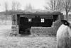 Pill-Box, Kingstown Aerodrome, Greymoorhill (russell_w_b) Tags: pentaxmx ilfordxp2400 wwii rafkingstown pillbox wwiidefences carlisle cumberland cumbria defenceofcumbriaduringwwii