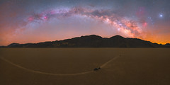 Rendezvous on the Racetrack (Jake Rogers Photo) Tags: milkywayphotography jakerogersphotography jakerogers planets saturn mars jupiter panorama landscapeastrophotography milkyway sailingstones playa racetrackplaya theracetrack nationalpark california deathvalleyphotography deathvalley deathvalleynationalpark