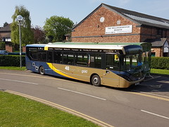 SN67 XCX (markkirk85) Tags: alexander dennis e20d enviro 200mmc stagecoach midlands new midland red south 22018 26205 bus buses sn67 xcx sn67xcx