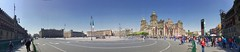 HD Panorama, National Palace, Old City Hall, Government Buildings, Metropolitan Cathedral, Metropolitan Tabernacle, and National Palace again (L to R), Plaza de la Constitución, Mexico City, Mexico (dannymfoster) Tags: mexico mexicocity zocalo centrohistorico plazadelaconstitución governmentbuilding cityhall oldcityhall cathedral metropolitancathedral tabernacle metropolitantabernacle palace nationalpalace