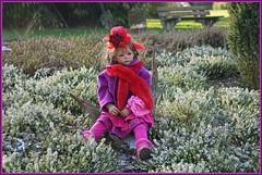 Milina ... ich warte auf den Frühling ... (Kindergartenkinder) Tags: kindergartenkinder annette himstedt dolls gruga grugapark essen milina