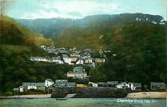 From the sea (Michael Jefferies) Tags: england devon clovelly seaside village postcard 1909