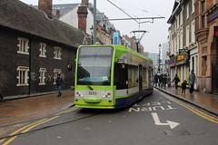 Croydon Tramlink 2553 (TC60054) Tags: croydon tram tramway tramlink light rail railway first group bombardier cr4000 metro