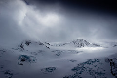 Face to Face (Beppe Rijs) Tags: austria österreich alps alpen berg mountain snow schnee eis ice glacier gletscher ski dusk twilight blue frost winter pitztal