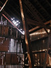 Lattice detailed edges (LivGreen07) Tags: sweitzer barn inside lattice shadows wood michigan