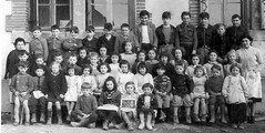 Class Photo (theirhistory) Tags: children boys kids school class form girls skirt shorts jumper dress shoes wellies boots