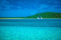 Glenn's catamaran was able to take us to all the little hidden gems in the Exumas.