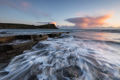 ATOMIC RUSH (Mark John Nepomuceno) Tags: rushing waves dorset coastal uk uklandscpaes atomic clouds formation kimmeridge