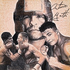 77 - Arturo Gatti (Bob Smerecki) Tags: smackman snapnpiks robert bob smerecki sports art digital artwork paintings illustrations graphics oils pastels pencil sketchings drawings virtual painter 6 watercolors smart photo editor colorization akvis sketch drawing concept designs gmx photopainter 28 draw hollywood walk fame high contrast images movie stars signatures autographs portraits people celebrities vintage today metamorphasis 002 abstract melting canvas baseball cards picture collage jixipix fauvism infrared photography colors negative color palette seeds university michigan football ncaa mosaic