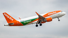 Airbus A320-214(WL) G-EZPD easyJet (Europcar Livery) (William Musculus) Tags: basel mulhouse freiburg airport spotting bsl mlh eap lfsb gezpd easyjet airbus a320214wl europcar livery special a320200
