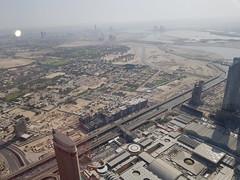 View From ''At The Top''  (25) (niketa579) Tags: uae dubai burjkhalifa atthetop tour tallestbuilding downtowndubai