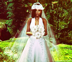 I Do (SueGeeli DeCuir) Tags: papermoon weddinggown bridal bouquet gown dress veil flowers flower tiara lavirevolte rama catwa maitreya studioexposure rossi lumipro