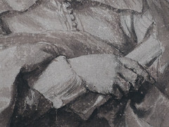 VAN DYCK Antoon - Portrait de Robert van Voerst, Graveur (drawing, dessin, disegno-Louvre INV19908) - Detail 15 (L'art au présent) Tags: art painter peintre details détail détails detalles drawings dessins dessins17e 17thcenturydrawings louvre museum paris france dessinshollandais dutchdrawings dutchpainters peintreshollandais lavis wash antoonvandyck antoon antoine anton bible figures personnes people pose model portrait portraits face faces visage printer man men homme tribute hommage