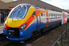 222007, Leicester, September 5th 2015 (Southsea_Matt) Tags: 222007 class222 meridian bombardier stagecoach eastmidlandstrains dmu dieselmultipleunit passengertravel publictransport vehicle railroad leicester leicestershire england unitedkingdom canon 60d autumn 2015 september train railway station