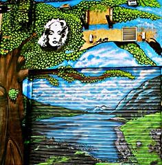 Marilyn (portalealba) Tags: grafiti zaragoza portalealba canon eos1300d 1001nights 1001nightsmagiccity 1001nightsmagicwindow