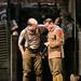 Tim Treloar (Jack Firebrace) & Alfie Browne-Skyes in BIRDSONG. Credit Jack Ladenburg