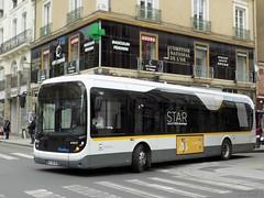 Bolloré Bluebus STAR n°501 (ChristopherSNCF56) Tags: rennes metropole star bus electrique bluebus bollore autobus transport urbains