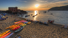 Boats to the Sun (Luca Enrico Photography) Tags: boad barche sole sun tramonto sunset liguria levanto landscape paesaggio mare seascape d750