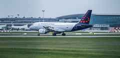 Brussels airlines in BUD (Dreamaxjoe) Tags: airport budapest aeroplane