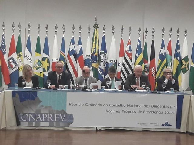 Abertura de Reunião Ordinária do Conselho Nacional dos Dirigentes de Regimes Próprios de Previdência Social, em Curitiba. 19.abr.2018