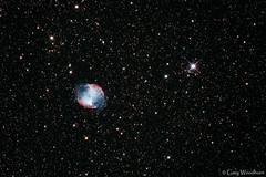 Dumbell Nebula - M27 (Gary Woodburn) Tags: dumbell nebula m27 messier 27 skywatcher 130 pds heq5 pro canon 600d astro modified