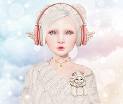 Enfer Sombre - Natasha (Gabriella Marshdevil ~ Trying to catch up!) Tags: sl secondlife doll cute kawaii catwa bento enfersombre taketomi cubiccherry comet albino