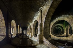 ELWW (Robin J Smith) Tags: finsburypark finsburyparkreservoir finsburyparkservicereservoir london longexposure architecture robinjsmith wwwfacebookcomrobinjsmith98 brick underground