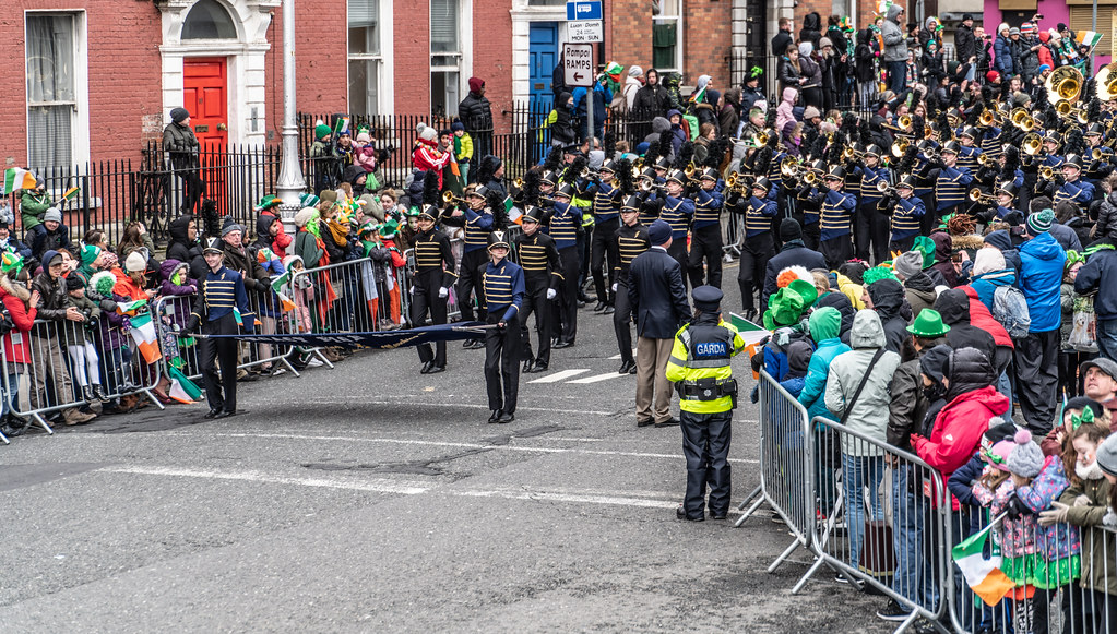 Legacy High School Lightning Marching Band [St. Patricks Day Parade 2018 In Dublin]-137524