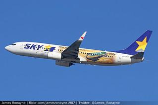 JA73NT   Boeing 737-86N   Skymark Airlines