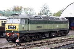 D1661_23.10.17 (runtheredline) Tags: wsr westsomersetrailway williton preserved diesellocomotive class47 brushtype4 br britishrail britishrailways d1661 northstar green 2017