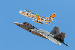 F-86 & F-22 (gilamonster8) Tags: fly eos mark canon animal 7dmarkii ef400mm56l explored explore heritage flight training certification course 2018