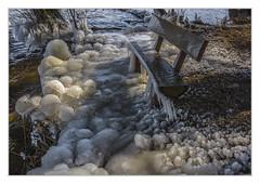 Do not put, black ice (bavare51) Tags: tollensesee wasser bank eis ufer natur winter gefroren see eisgebilde