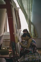 Carpt Workshop; Samarkand, Uzbekistan (erik-peterson) Tags: 2017 carpet d3s erikpeterson samarkand uzbekistan workshop узбекистан factory rug silk handmade textile carpets
