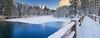 A Morning Walk (mikeSF_) Tags: california yosemite national park ynp snow winter capitan sentinel swingingbridge bridge merced mikeoria wwwmikeoriacom meadow white blue yosemitenationalpark swinging mercedriver tuolumne