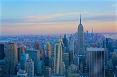 Gotham City (Kramskorner) Tags: gotham city new york nyc manhattan empire state building top of the rock rockefeller center times square skyline world trade