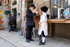 . (Fabian Schreyer // shootingcandid) Tags: smoking kids israel jerusalem meashearim purim streetphotography strasenfotografie candid street