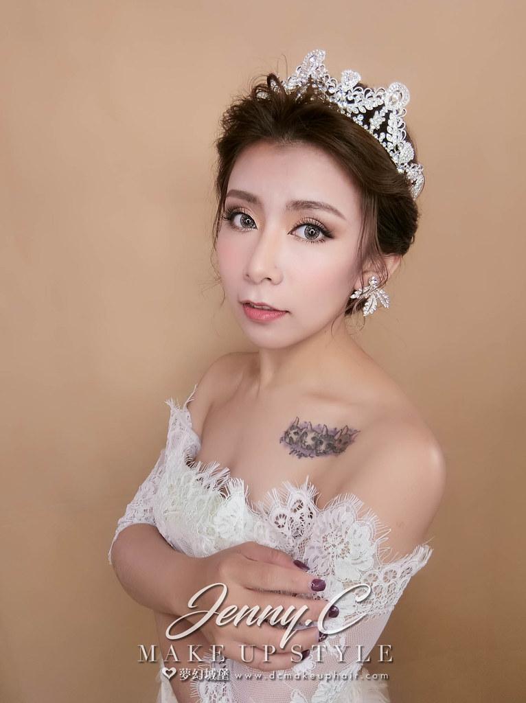 【新秘蓁妮】新娘造型創作 / 歐美皇冠造型