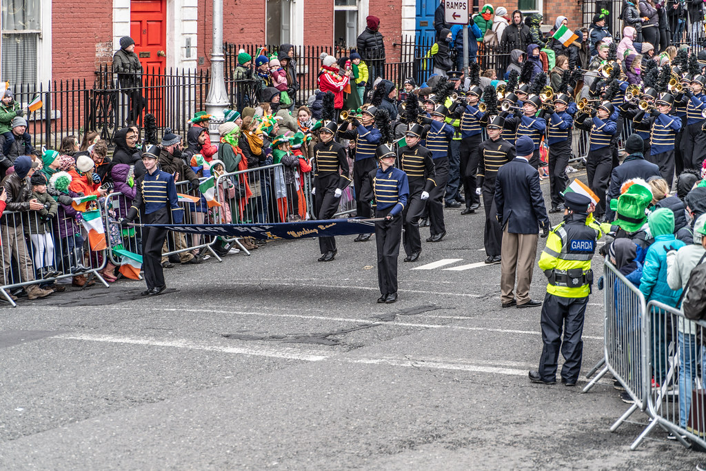 Legacy High School Lightning Marching Band [St. Patricks Day Parade 2018 In Dublin]-137525