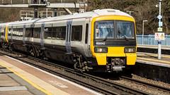 466042 (JOHN BRACE) Tags: 1991 gec alsthom built class 466 emu 466042 southeastern livery orpington station