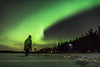 Shooting Auroras (Arttu Uusitalo) Tags: aurora borealis northern lights auroras shooting winter spring landscape night sky finland wideangle snow lake sony a6500 taking pictures photos stargazing