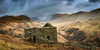 28th March 2018 (Rob Sutherland) Tags: sheiling ruin old ancient delapidated wrecked fallingdown roofless drystone traditional construction hut agriculture agricultural shepherd shepherding past historic historical dissused lakeland lakedistrict lakes cumbria cumbrian england english britain british uk panoramic highstreet mountain mountains hill hills fell fells dramatic sky storm stormy broadend hartcrag cloud clouds weather upland