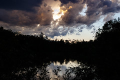 Mill Pond 2 (AAWWSS) Tags: pond lake water nature landscape sky strom silhouette dark